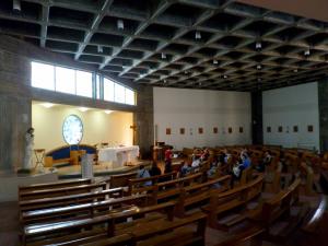 Fig. 24. Pompei, località Moregine, chiesa S. Giuseppe Sposo della B.V. Maria, aula liturgica.