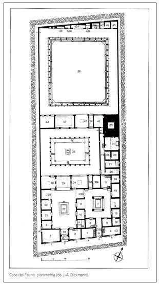 L area archeologica di pompei sistemi di fruizione - Software planimetria casa ...