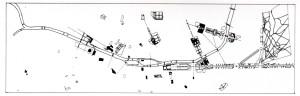 Fig. 10  Sistema degli assi in rapporto agli attraversamenti della Senna.
