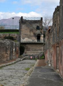 Pompei. Tower XI, comunemente detta 'Torre di Mercurio'
